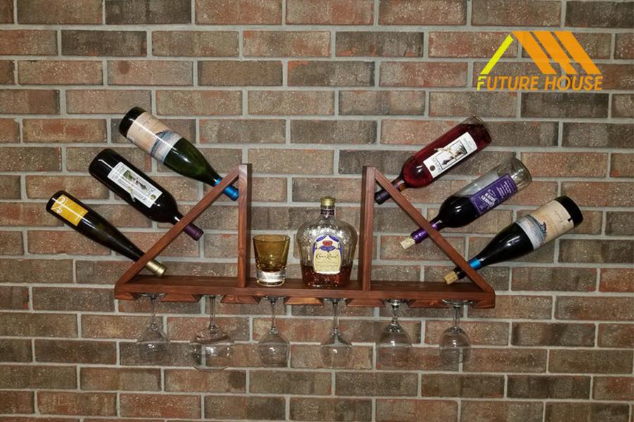 Kệ Rượu Gắn Tường FH006