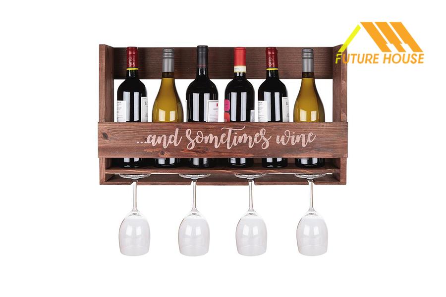 Kệ Rượu Gắn Tường FH014