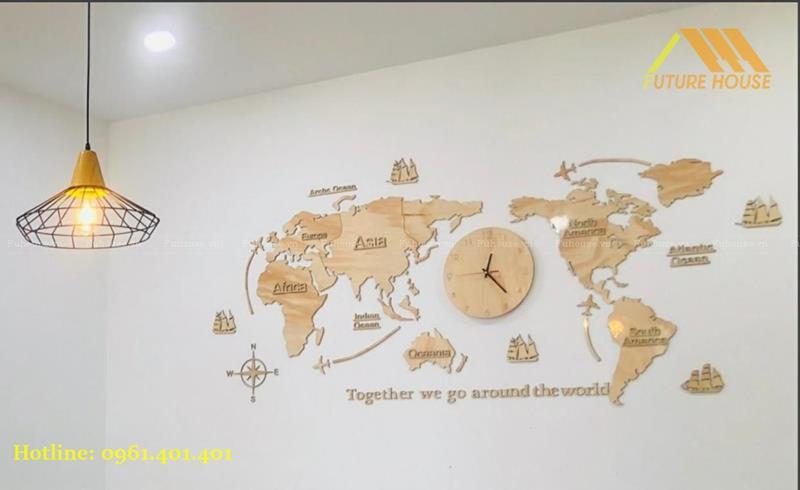 bản đồ gỗ
