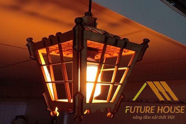 Đèn gỗ thả trần F-Louvre 57