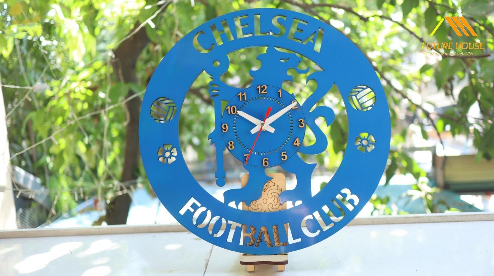 Đồng Hồ Gỗ Treo Tường Chelsea
