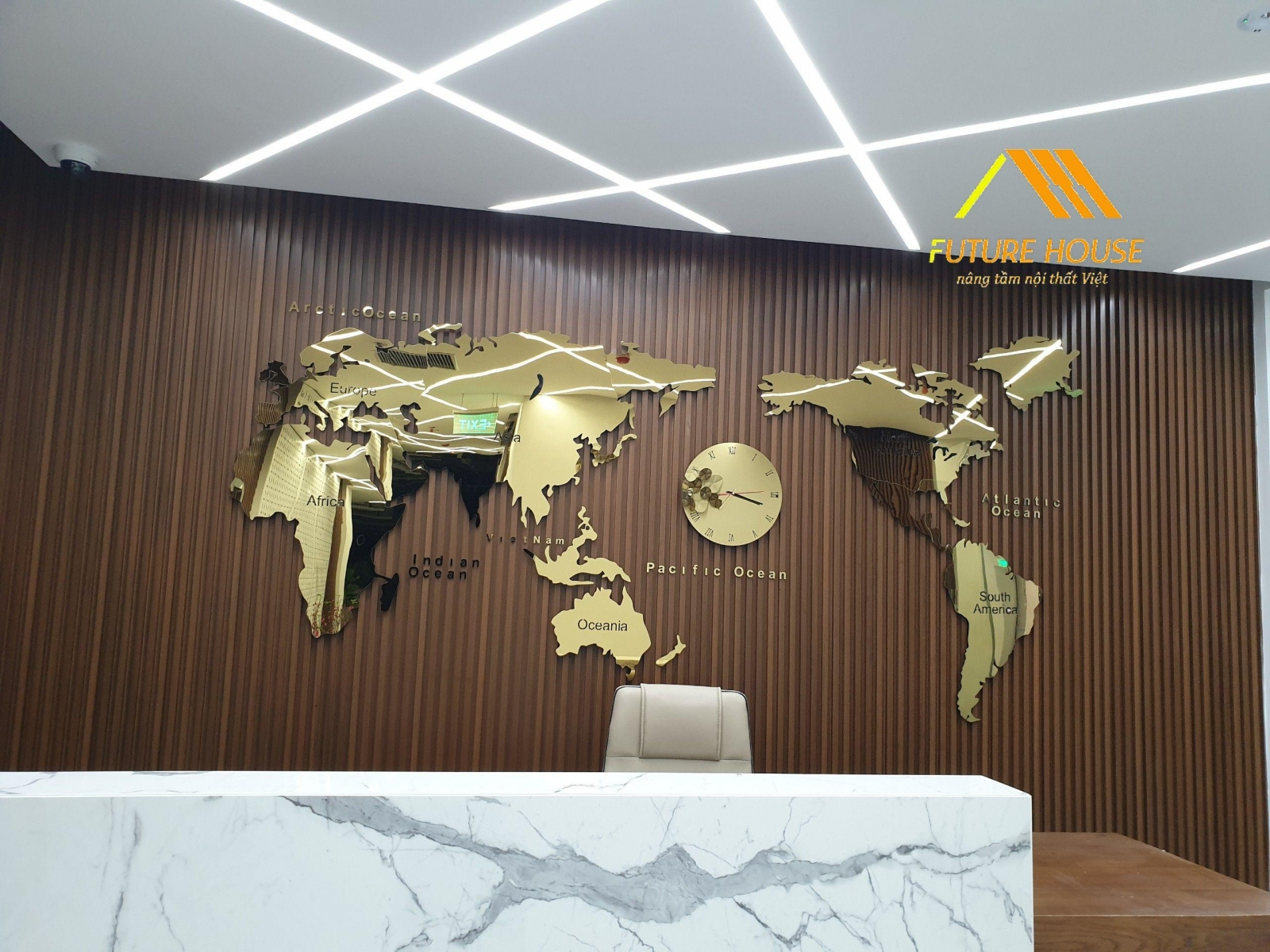 bản đồ thế giới treo tường