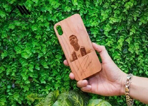 Ốp lưng gỗ Ronaldo